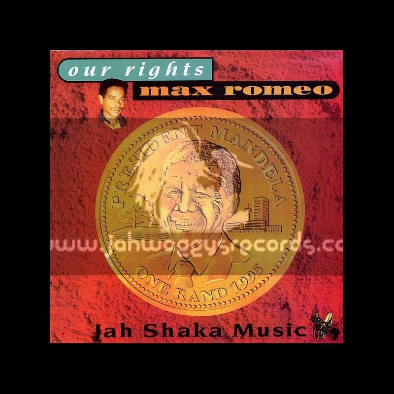 Jah Shaka Music-LP-Our Rights / Max Romeo