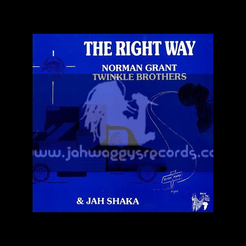 Jah Shaka Music-LP-The Right Way - Twinkle Brothers (Vocal & Dubwise)