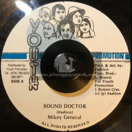 """Youth Promotion-7""""-Sound Doctor / Mikey General"""