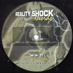 "Reality Shock Records-10""-War / Mikey Murka"