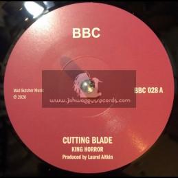 "BBC-7""-Cutting Blade / King Horror + Vampire / King Horror"