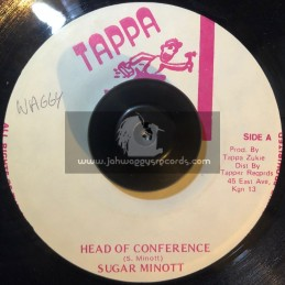 "Tappa Records-7""-Head Of Conference / Sugar Minott"