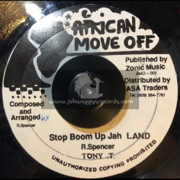 "African Move Off-7""-Stop Boom Up Jah Land / Tony T"