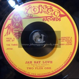 Congo Records-7-Jah Say Love / Two Plus One