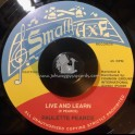 "Small Axe Records-7""-Live And Learn / Paulette Pearce"