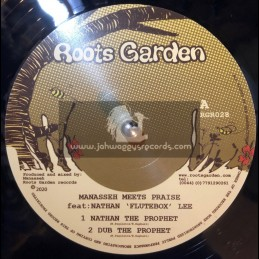 """Roots Garden Records-12""""-Nathan The Prophet / Manasseh Meets Praise + No More Struggle / Manasseh Meets Praise"""