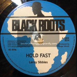 """Black Roots-7""""-Hold Fast / Leroy Sibbles"""