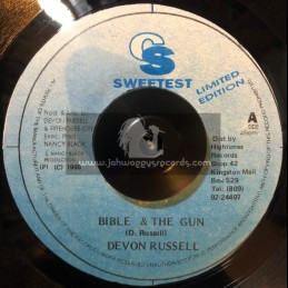 "CS Sweetest-7""-Bible And The Gun / Devon Russell"