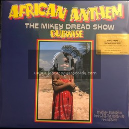 Dread At The Controls- Music On Vinyl-Lp-African Anthem (The Mikey Dread Show Dubwise) / Mikey Dread