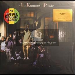 Island Records-Music On Vinyl-Lp- Pirate / Ini Kamoze