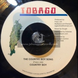 "TOBAGO-7""-THE COUNTRY BOY SONG/COUNTRY BOY"