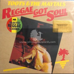 Island Records- Music On Vinyl-Lp-Reggae Got Soul / Toots & The Maytals