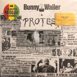 Island Records- Music On Vinyl-Lp-Protest / Bunny Wailer