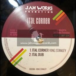 "Jah Works Promotion-12""-Ital Corner / King Stanley"