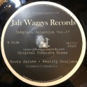 """Jah Waggys Records-7""""-Roots Salute / Realty Souljahs"""