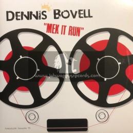 Pressure Sounds(Rama)-Double LP-Mek It Run / Dennis Bovell