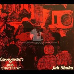 Jah Shaka Music-LP-Deliverance / Disciples - Commandments Of Dub Chapter 6