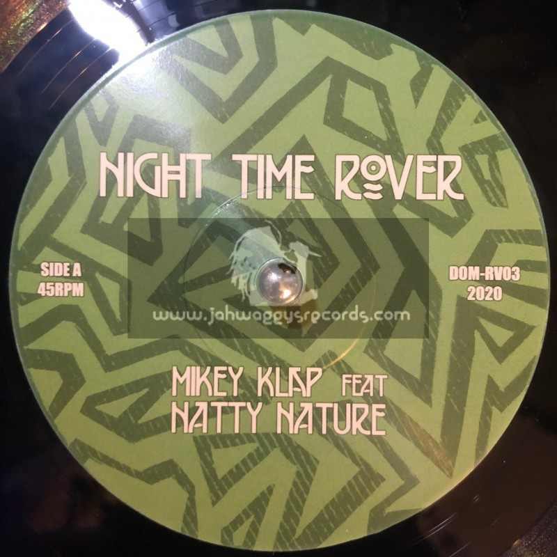 """Dubomatic-7""""-Night Time Rover / Natty Nature And Mikey Klap"""