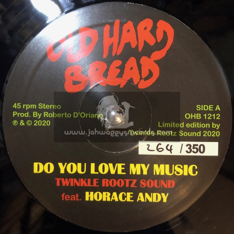 """Old Hard Bread-12""""-Do You Love My Music / Horace Andy"""