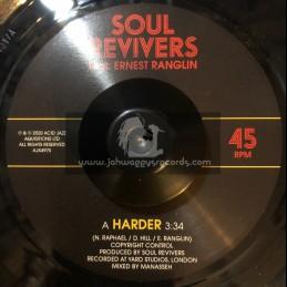 "Acid Jazz-7""-Harder / Soul Revivers Feat Ernest Ranglin"