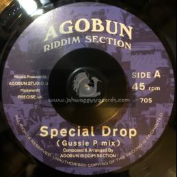 "Agobun Riddim Section-7""-Special Drop /  Agobun Riddim Section (Gussie P mix)"