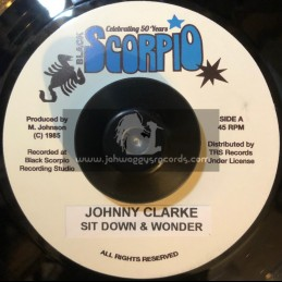"Black Scorpio-7""-Sit Down & Wonder / Johnny Clarke"