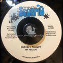 "Black Scorpio-7""-My Region / Michael Palmer"