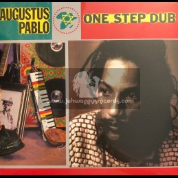 Greensleeves-Vp Records-Lp-One Step Dub / Augustus Pablo