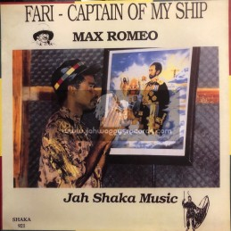 Jah Shaka Music-LP-Fari-Captain Of My Ship / Max Romeo