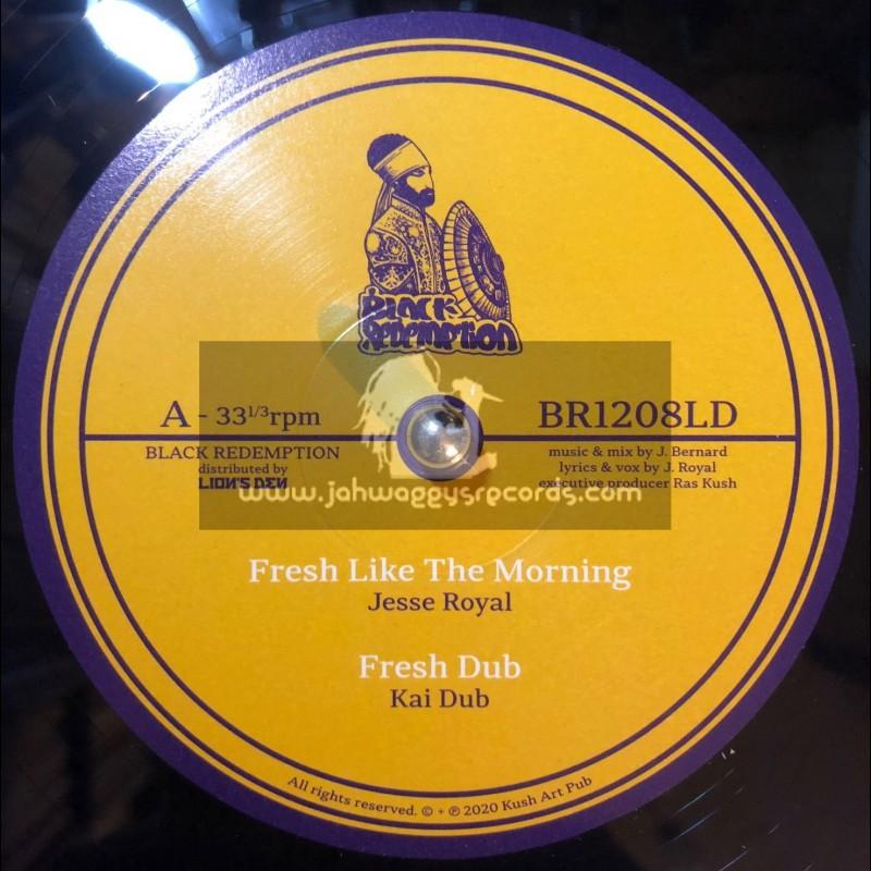 "Black Redemption-12""-Fresh Like The Morning / Jesse Royal + Rastafari / Wellette Seyon"