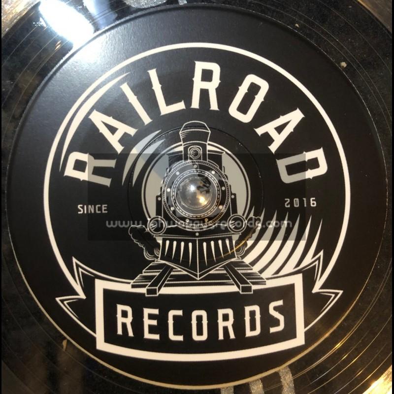 """RailRoad Records-7""""-Metal Dub / Jah Schulz"""