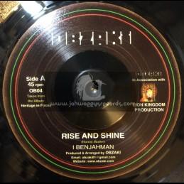 "Obazki-7"" Rise & Shine / I Benjahman"