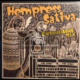 "Conquering Lion Records-12""-Rock It Ina Dance / Hempress Sativa + No Retreat / Hempress Sativa"