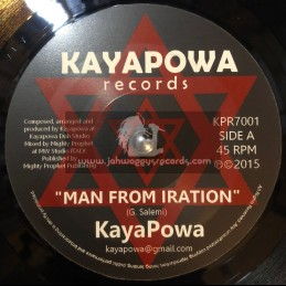 "Kayapower Records-7""-Man From Iration / Mighty Prophet"