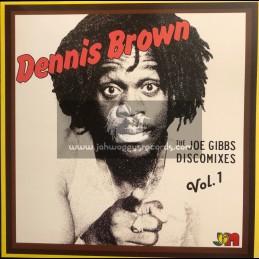 Studio 16-Joe Gibbs-Lp-The Joe Gibbs Discomixes Vol. 1 / Dennis Brown