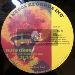 "I Negus Records Inc-10""-Beloved Ethiopia / Cos Taffari (Victory Dance Riddim)"
