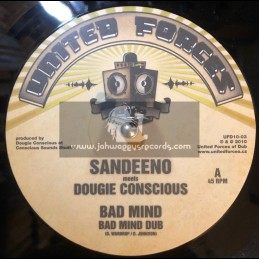 """UNITED FORCES-10""""-BAD MIND / SANDEENO(CONCIOUS SOUNDS) + ROOTSTOCK /  PETR MIKOVEC"""