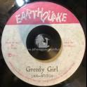 """Earthquake-7""""-Greedy Girl / Jah Stitch"""
