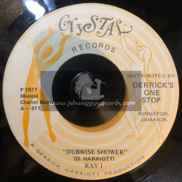 """Crystal Records-7""""-Dubwise Shower / Ray I """