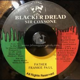 "Blacker Dread-7""-Father / Frankie Paul"