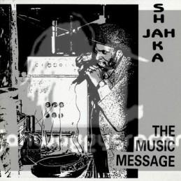 Jah Shaka Music-LP-THE MUSIC MESSAGE