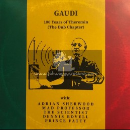 Dubmission Records-LP-100 Years of Theremin (The Dub Chapter) / Gaudi 