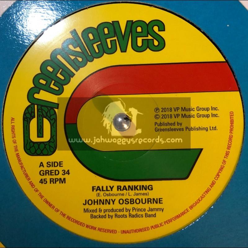 "Greensleeves Records-12""-Fally Ranking / Johnny Osbourne + Trench Town School / Johnny Osbourne"