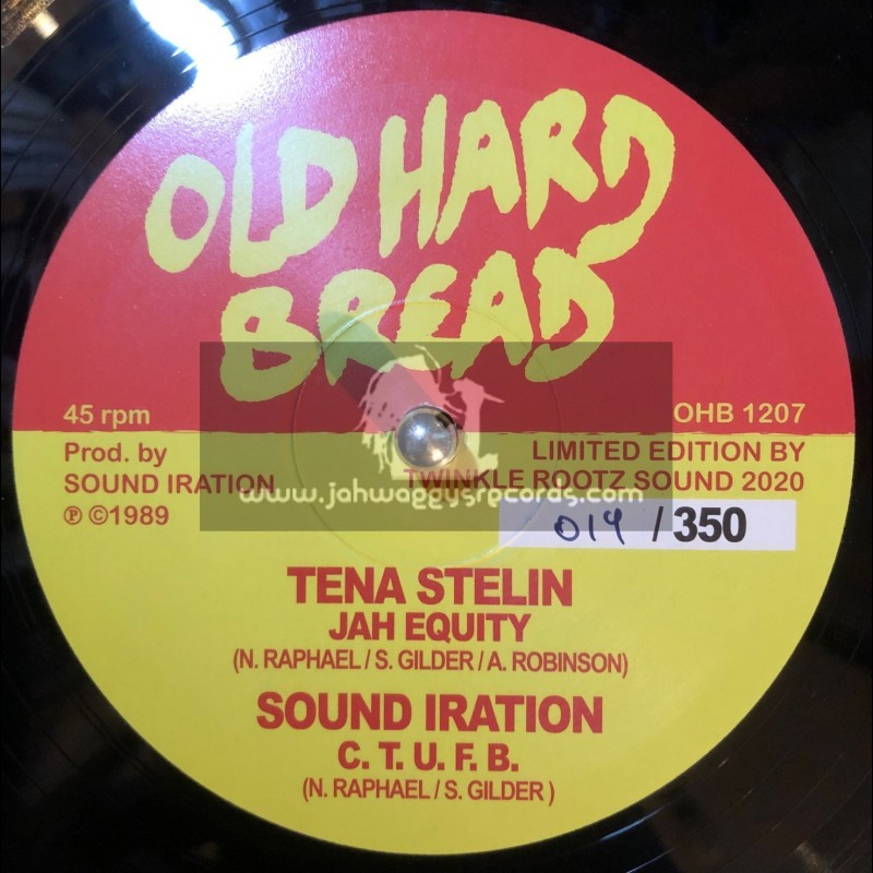 "Old Hard Bread-12""-Jah Equity / Tenastelin"