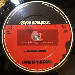 "One By One Records-7""-Long Is The Road / Payoh SoulRebel + Long Is The Sax / Jah Wind"