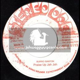 "Stereo One-7""-Praise Up Jah Jah / Burro Banton (Warrior Vibes)"