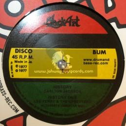 "Black Art-10""-History / Carlton Jackson + Upsetting Rhythm / The Upsetters"