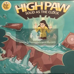 Cool Up Records-Lp-Solid as the Clock / High Paw