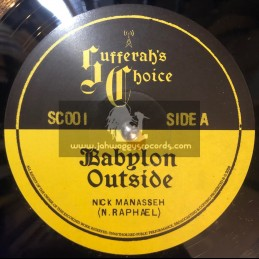 "Sufferahs Choice-12""-Babylon Outside / Nick Manasseh + Brexit Blues / Nick Manasseh"