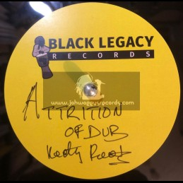 """Black Legacy Records-10""""-Dubplate-Attrition Of Dub / Keety Roots"""